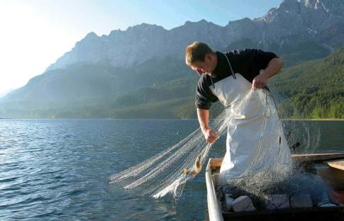 Fischer vom Eibsee