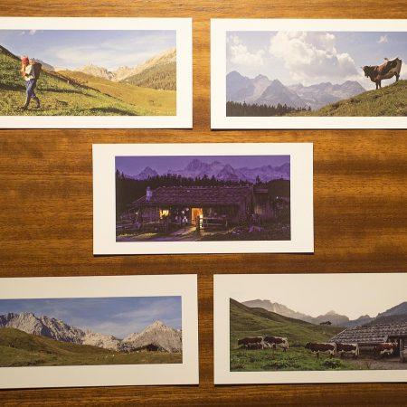 Postkartenset Bergedition 1